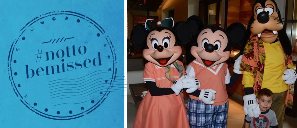 Disney Character Breakfast at the Four Seasons Orlando at Walt Disney World Resort