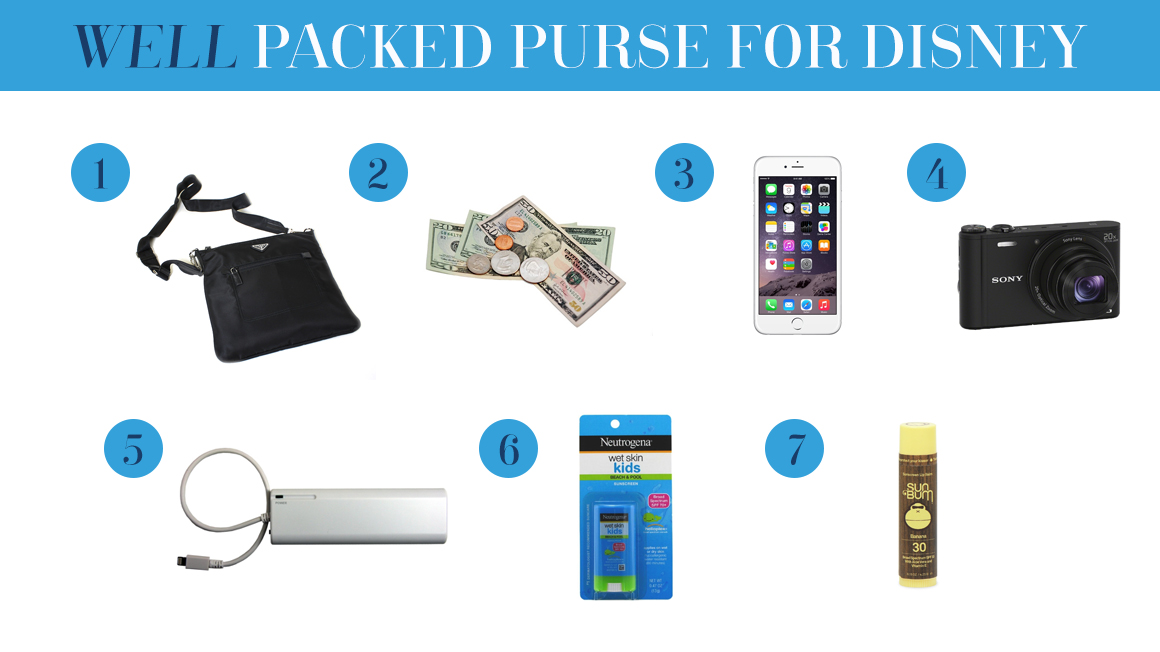 What to Pack in Your Purse for Disney