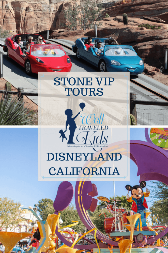 Stone VIP Tours at Disneyland