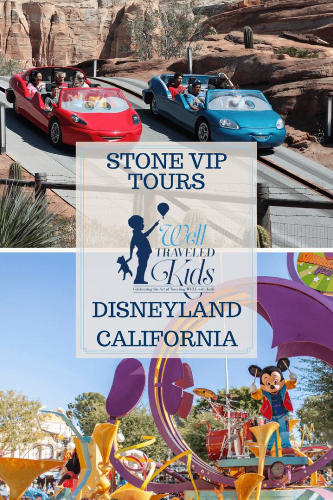 Stone VIP Tours at Disneyland
