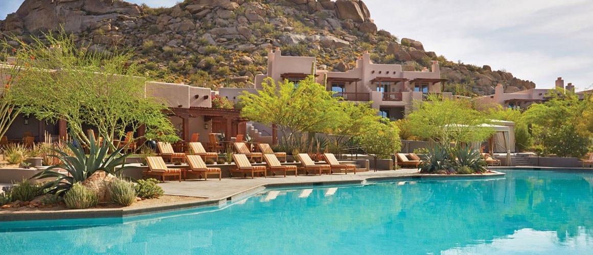 Luxury Desert Resort For Families Four Seasons Scottsdale At Troon North