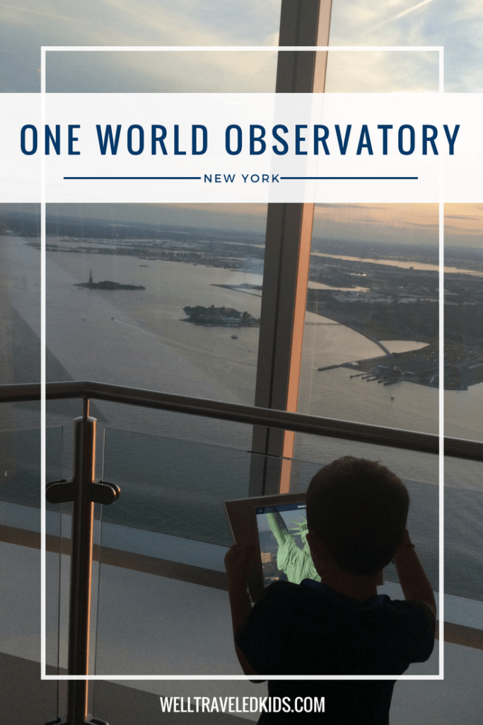 One World Observatory New York City with kids