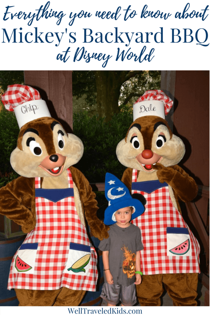 Mickey's Backyard BBQ at Disney World