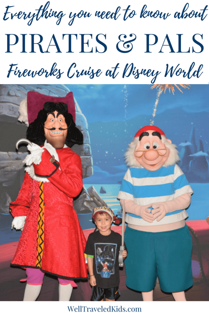Disney World Pirates and Pals Fireworks Cruise