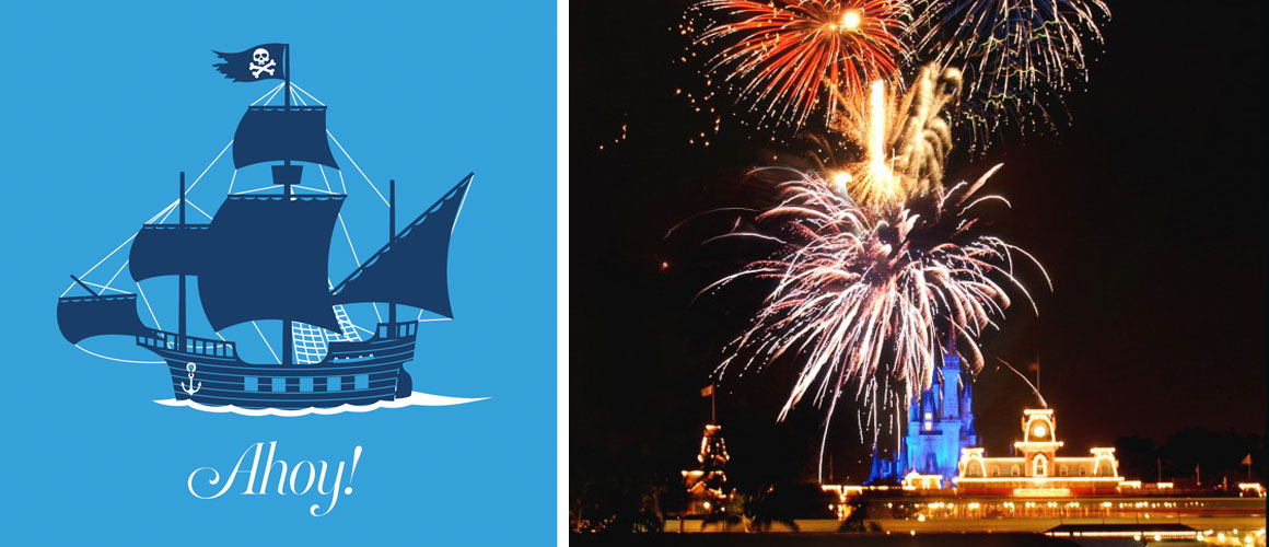 Set Sail on Disney's Pirates & Pals Fireworks Voyage