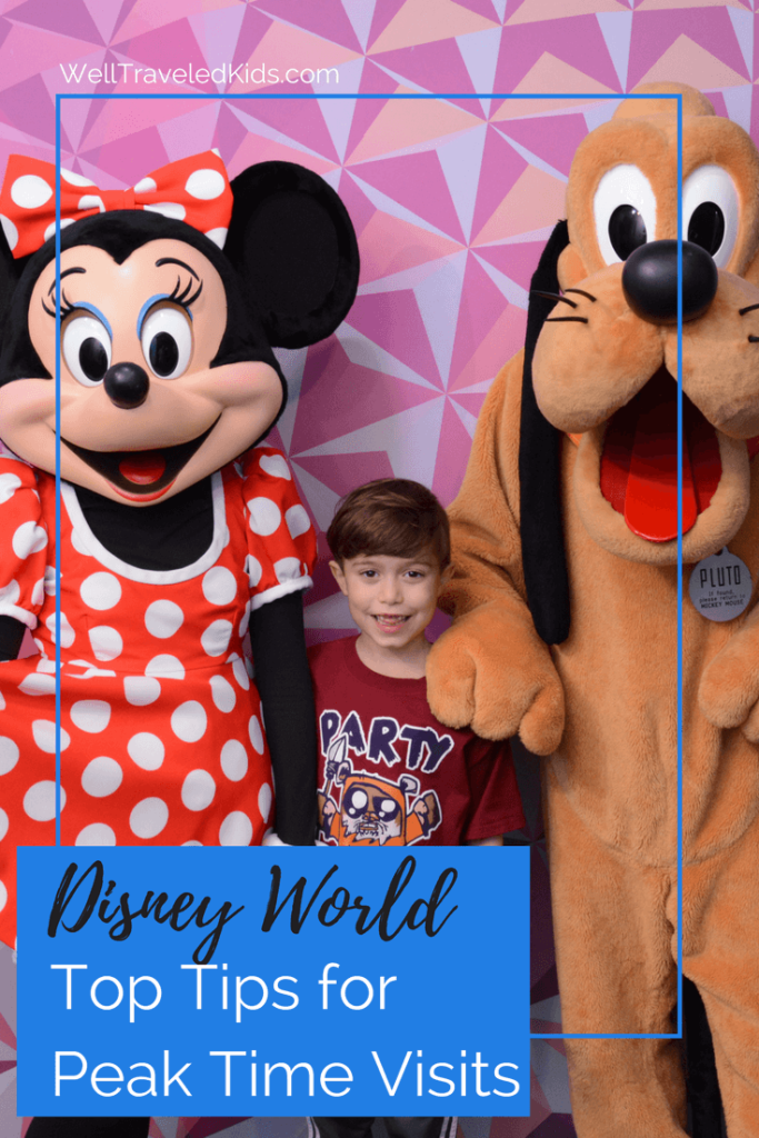 Top Tips and Tricks for Peak Time Visits to Disney World from Undercover Tourist CEO, Ian Ford | Tips for Disney World at Christmas | Tips for Disney World at Spring Break | Tips for Disney World Summer Vacation