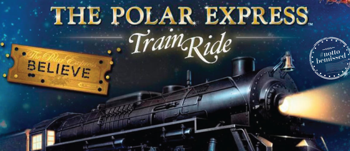 Well Traveled Kids Polar Express Train Ride At The Gold