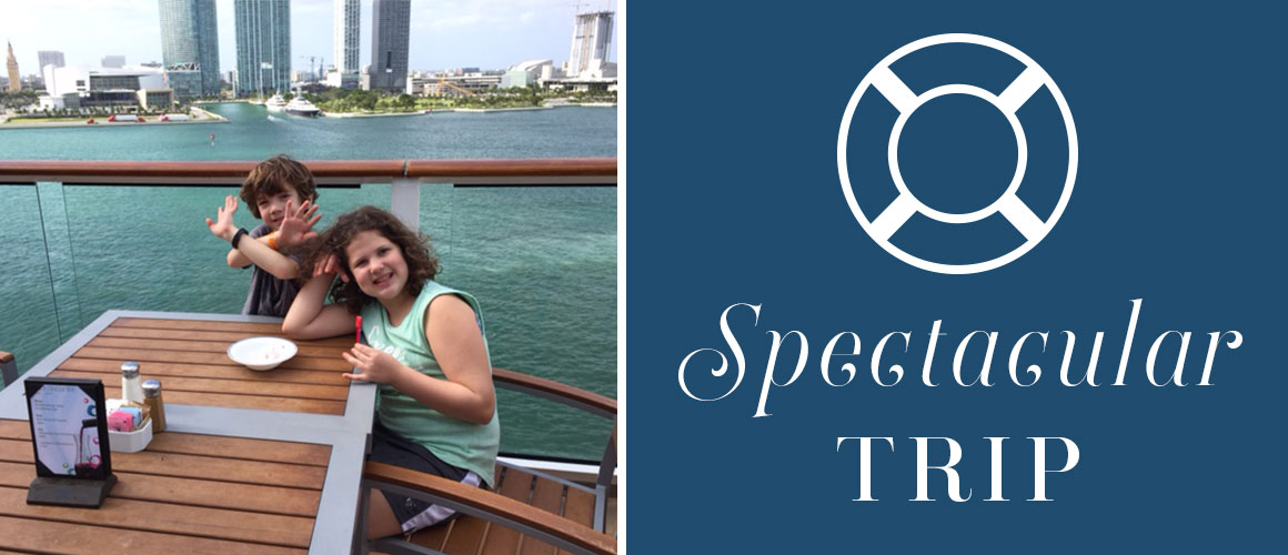 Family Adventure Cruising on the Celebrity Reflection with Kids
