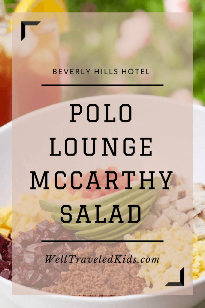 Beverly Hills Hotel McCarthy Salad Recipe