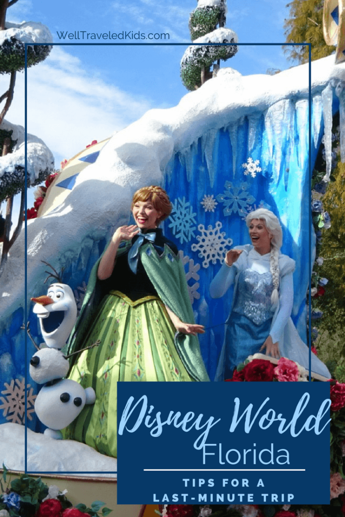 Tips for Disney World Last Minute Trip