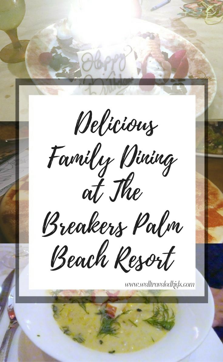Breakers Palm Beach Resort Food