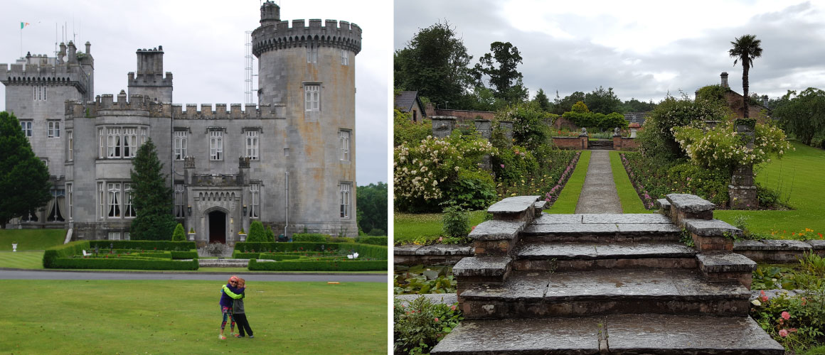 Multigenerational Family stay Dromoland Castle Hotel in Ireland with kids
