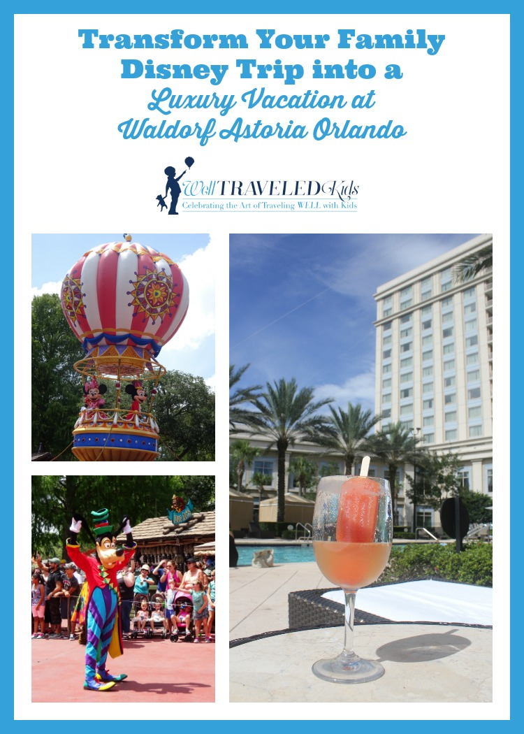Transform Your Family Disney Trip into a Luxury Vacation at Waldorf Astoria Orlando | Luxury Walt Disney World Hotel | Luxury Disney Vacation | Luxury Orlando Resort| Disney with kids | Summer at the Waldorf Astoria Orlando