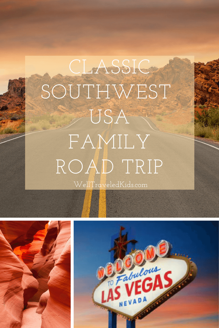 Classic Family Road Trip Southwest USA | Las Vegas, Grand Canyon & Zion National Park: The Classic American Family Road Trip | Visiting National Parks with kids