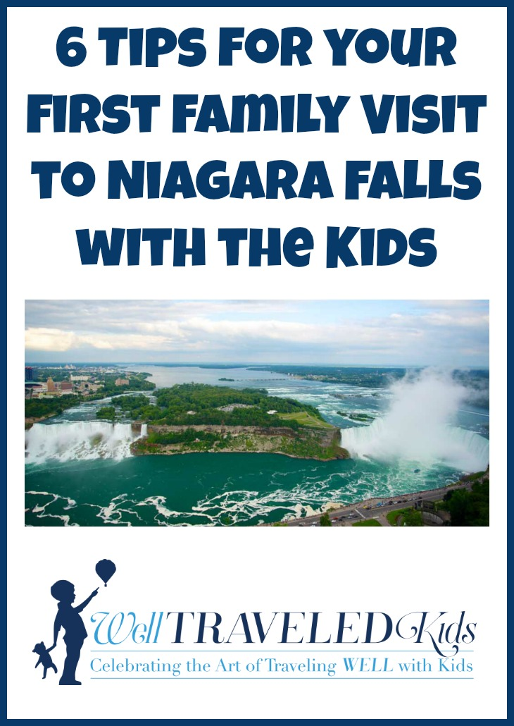 6 Tips for your first family Visit to Niagara Falls with the Kids | Everything you need to know for your first visit to Niagara Falls with kids!