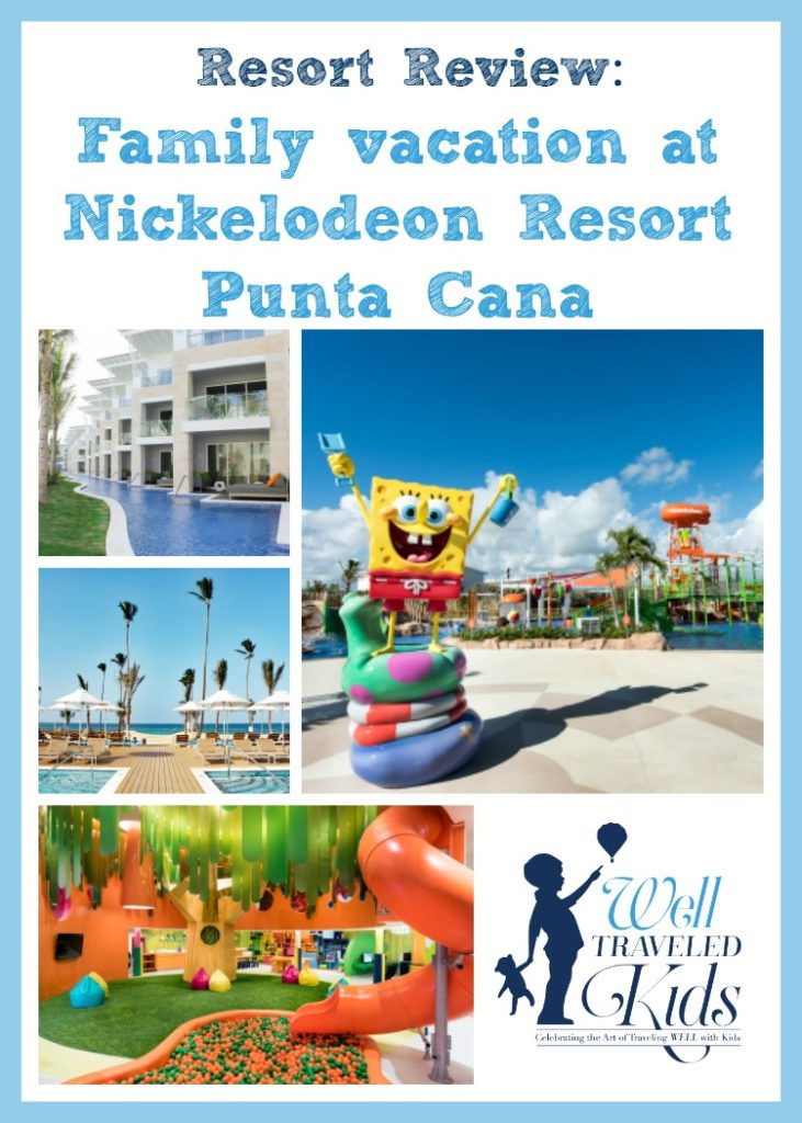 Well traveled kids family vacation at nickelodeon resort for Luxury all inclusive resorts for families