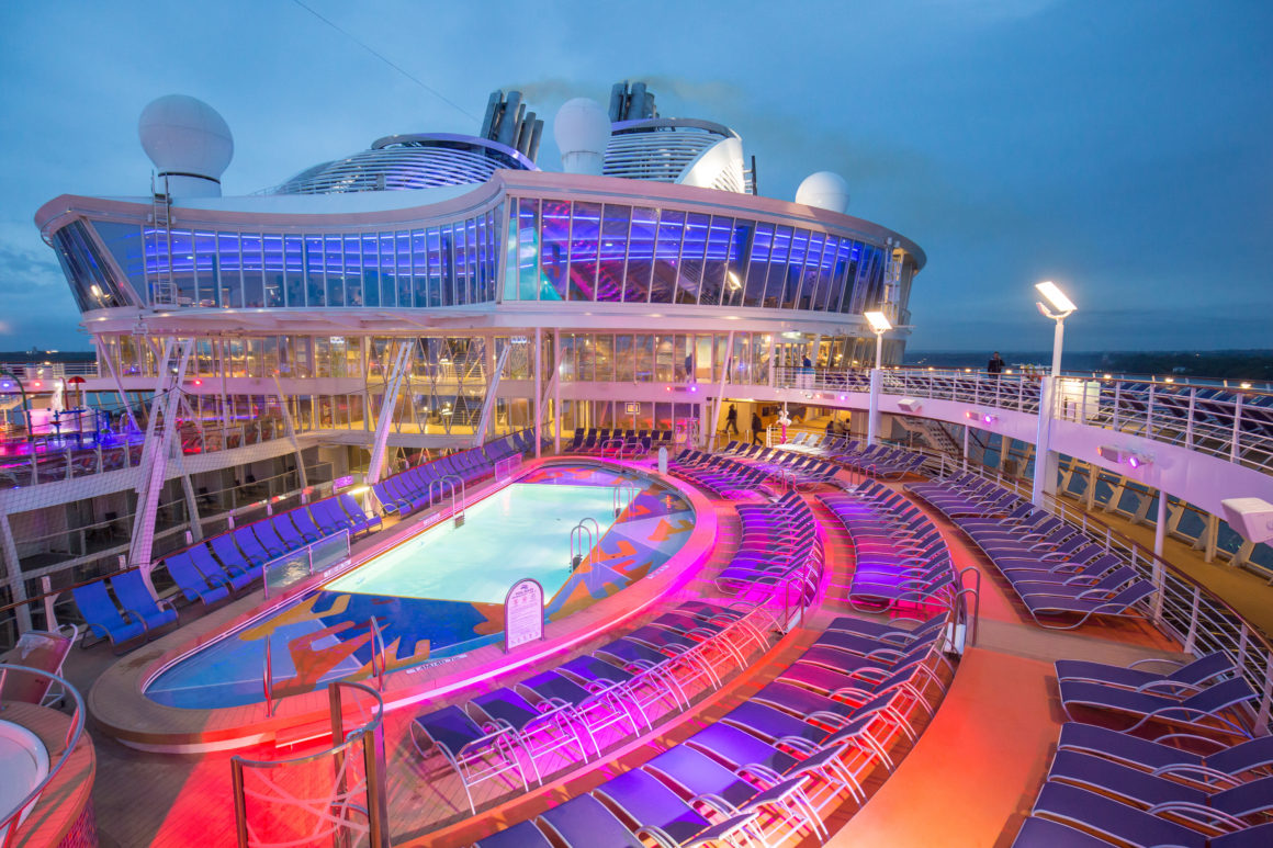 Well Traveled Kids Cruising Aboard Royal Caribbean Harmony Of - Family cruise ships