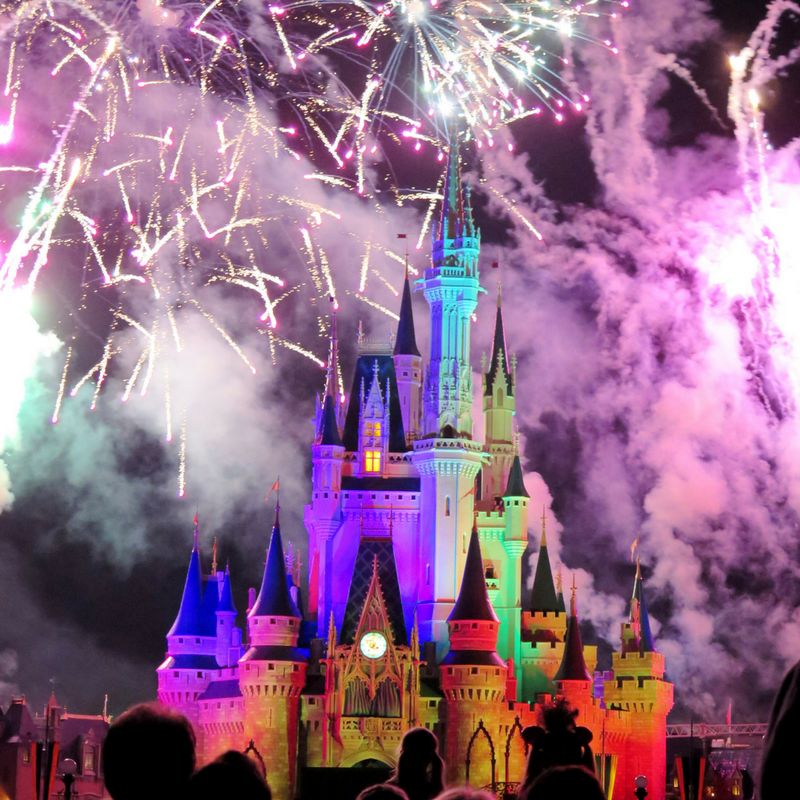 Best Fireworks at Disney World