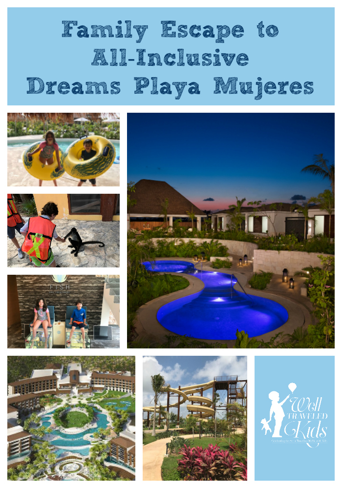 All Inclusive Luxury Family Vacation To Dreams Playa Mujeres Resort