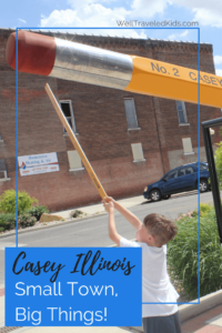 Midwest Family Travel to Casey Illinois