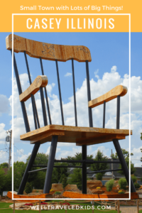 Casey Illinois: Home of the World's Largest Rocking Chair