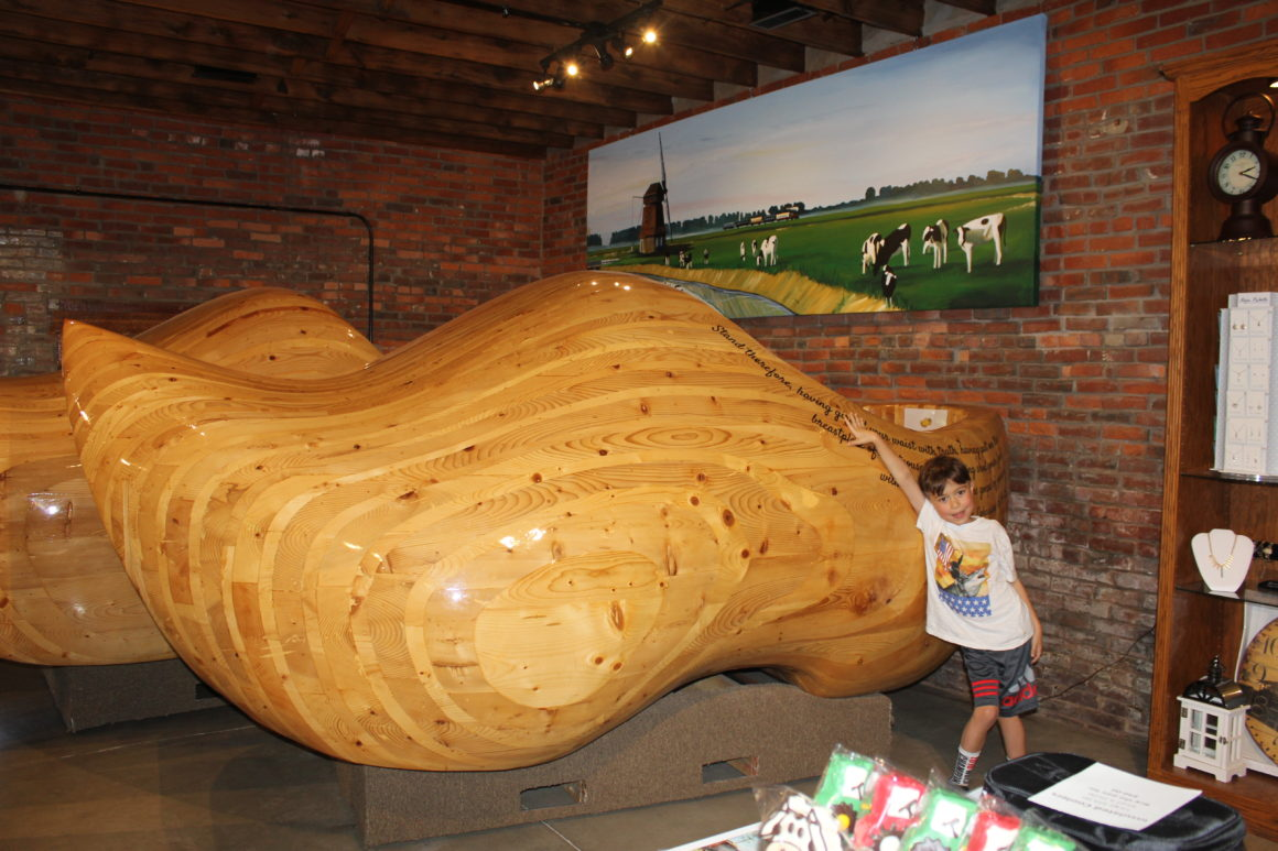Worlds Largest Wooden Shoes Well Traveled Kids