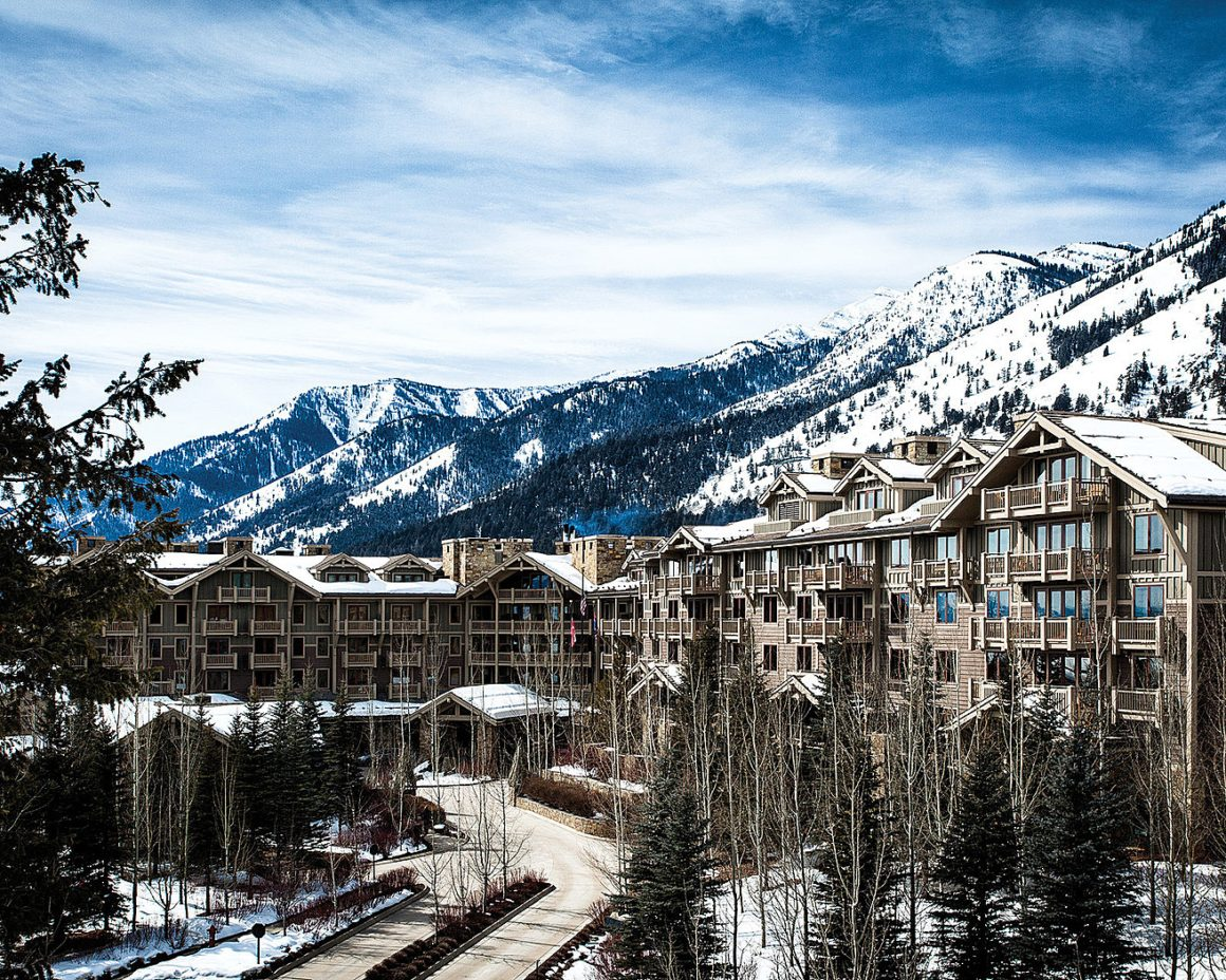 Family Winter Ski Vacation at Four Seasons Jackson Hole Resort