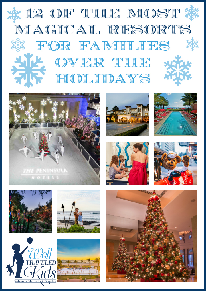 12 of the Most Magical Resorts for Families Over the Holidays | Best Christmas Hotels | Best Christmas Resorts | Best hotels to stay for the Holidays | Best family holiday | NYE Hotels | Best NYE Resorts | Best family holiday vacations | Luxury family vacation | Luxury family resort | luxury family travel