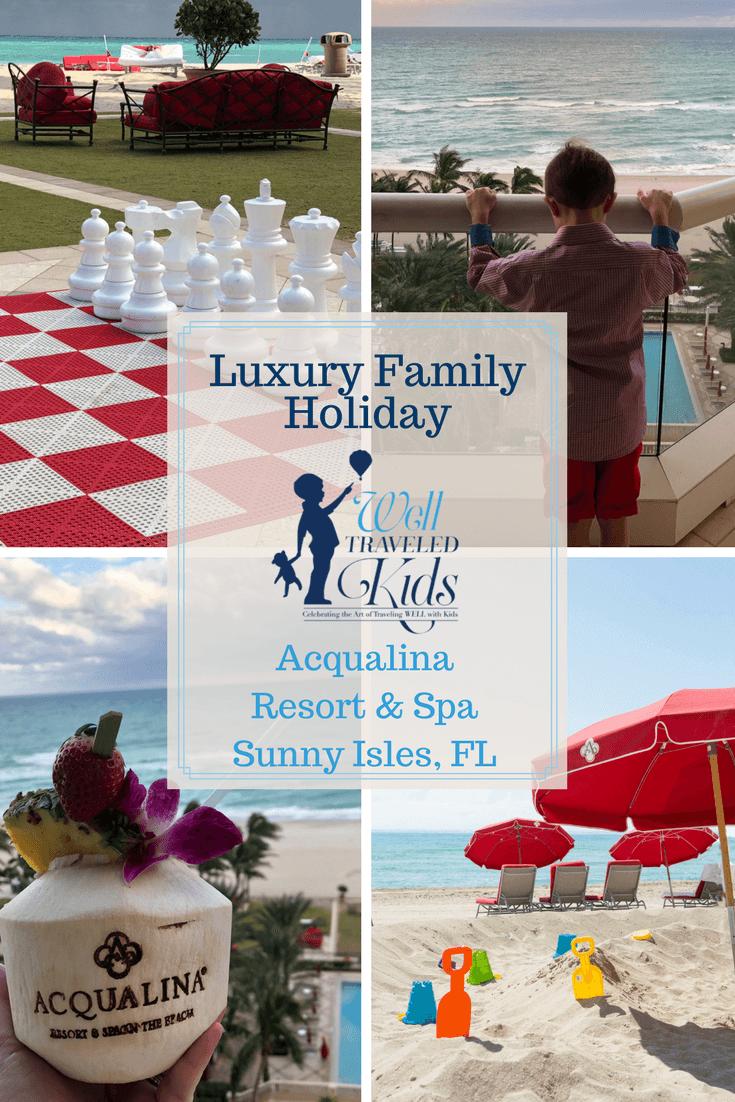 Luxury Family Holiday at Acqualina Resort