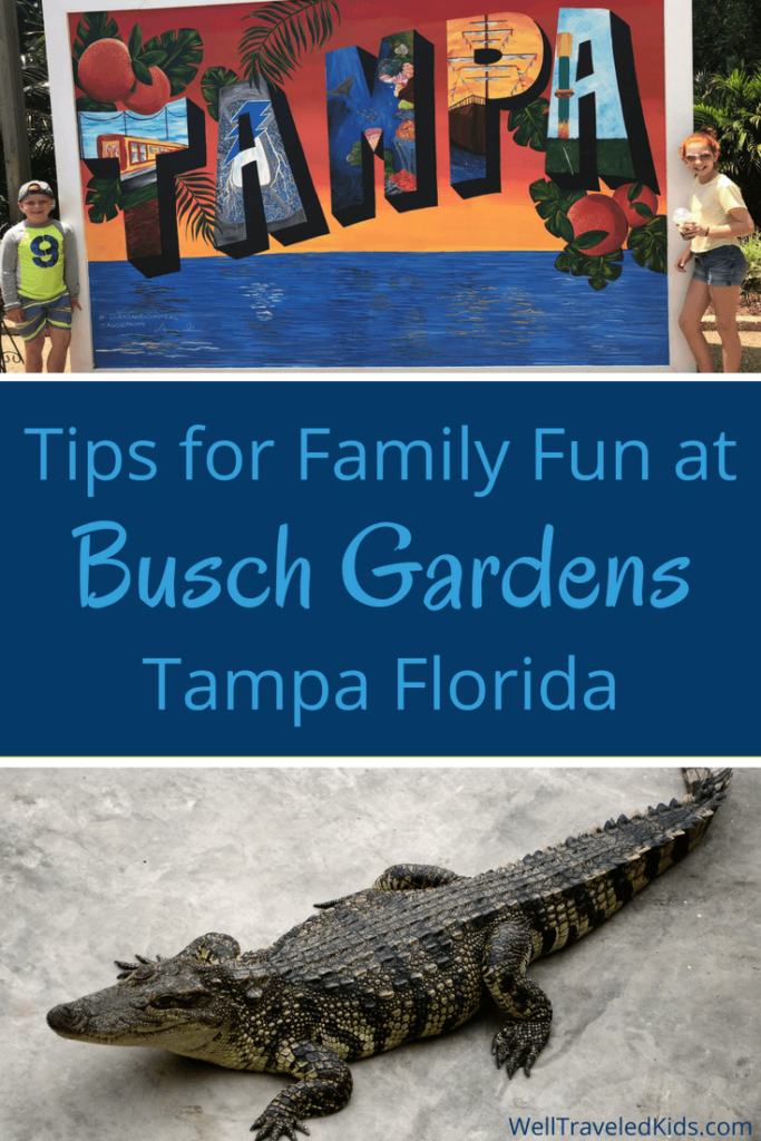 Family Fun at Busch Gardens Florida