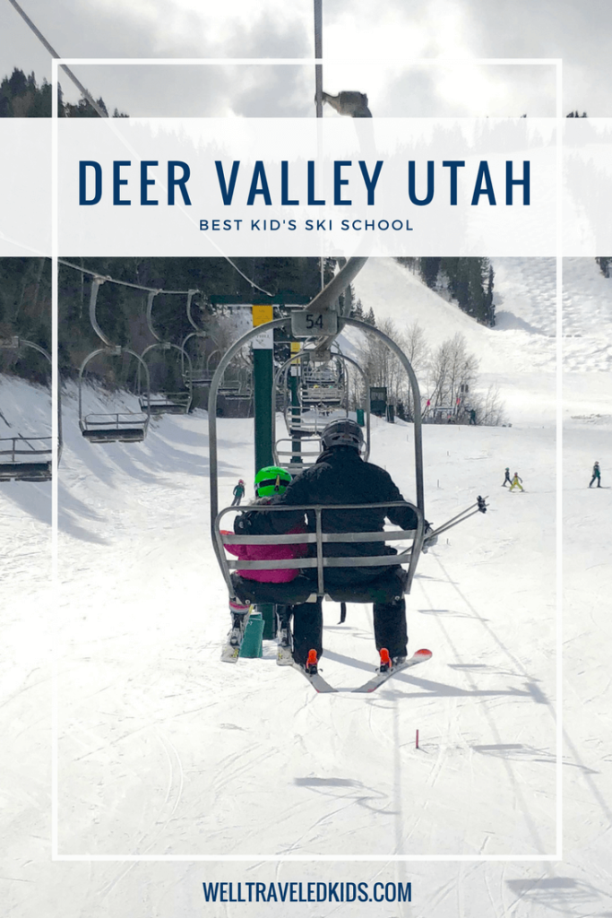 Learning to ski at Deer Valley Utah