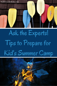 Expert tips for kid's summer camp