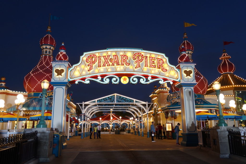 Pixar Pier Tips for Disneyland summer