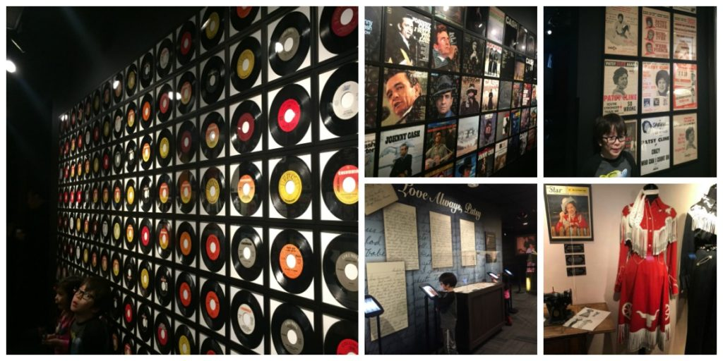 Best of Nashville with kids Patsy Cline Museum and Jonny Cash Museum