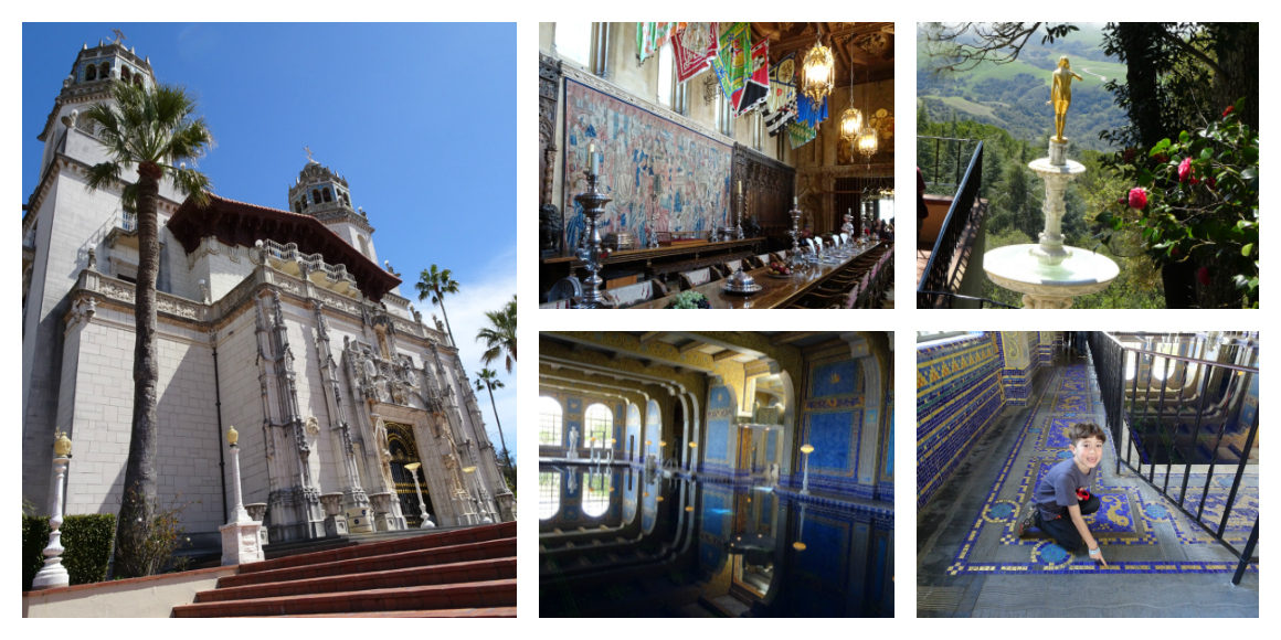 Hearst Castle Tour review with kids
