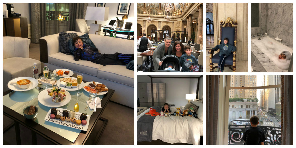 Palace Hotel San Francisco with kids