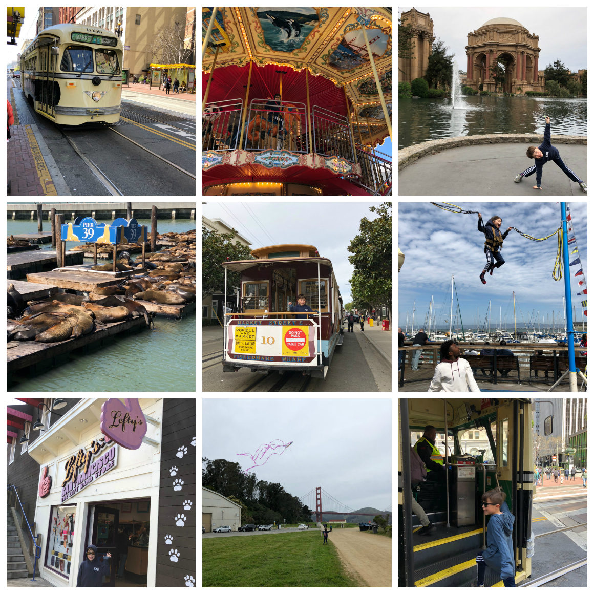 Stuff to do in San Francisco with kids