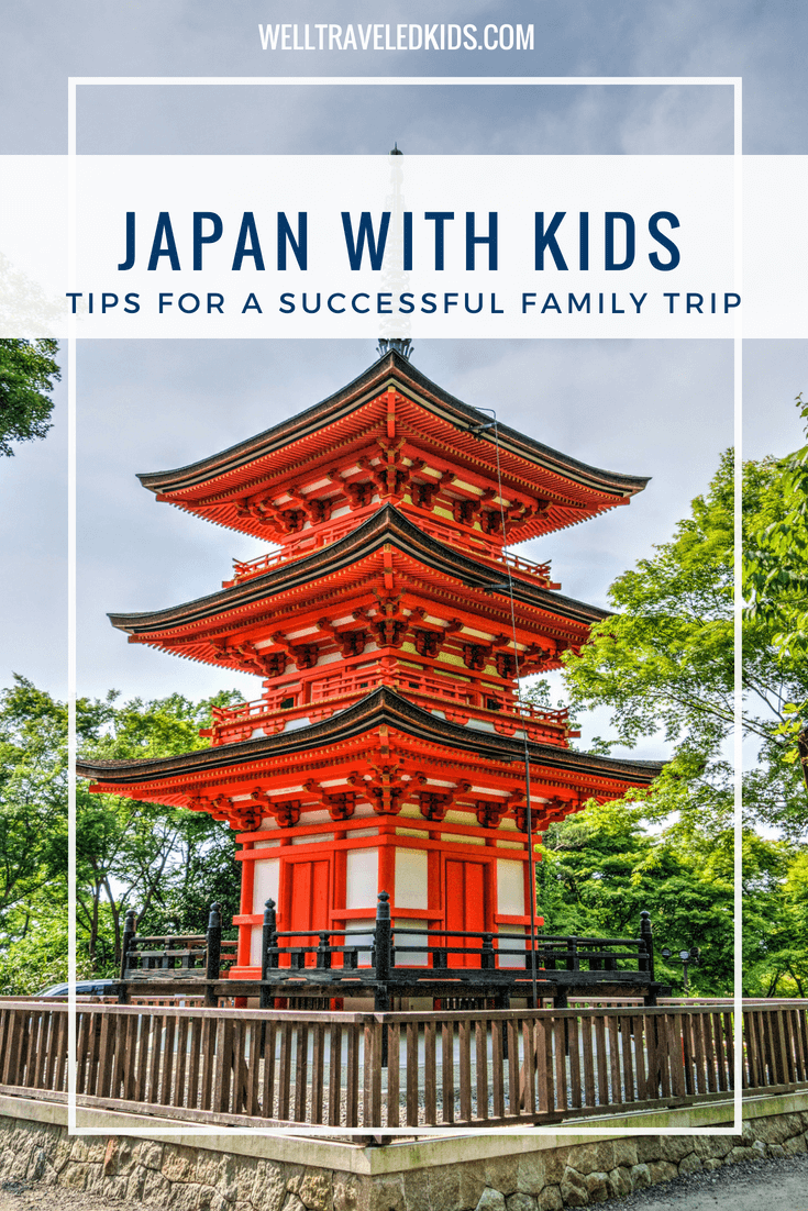 Tips for Visiting Japan with kids