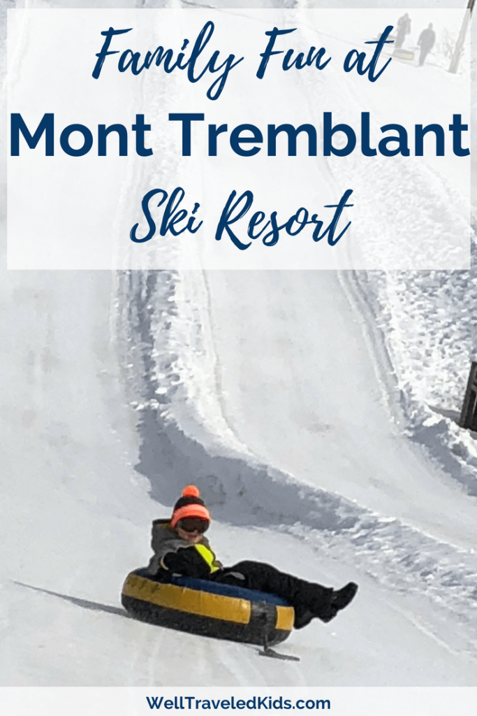 Snow Tubing at Mont Tremblant Ski Resort Canada