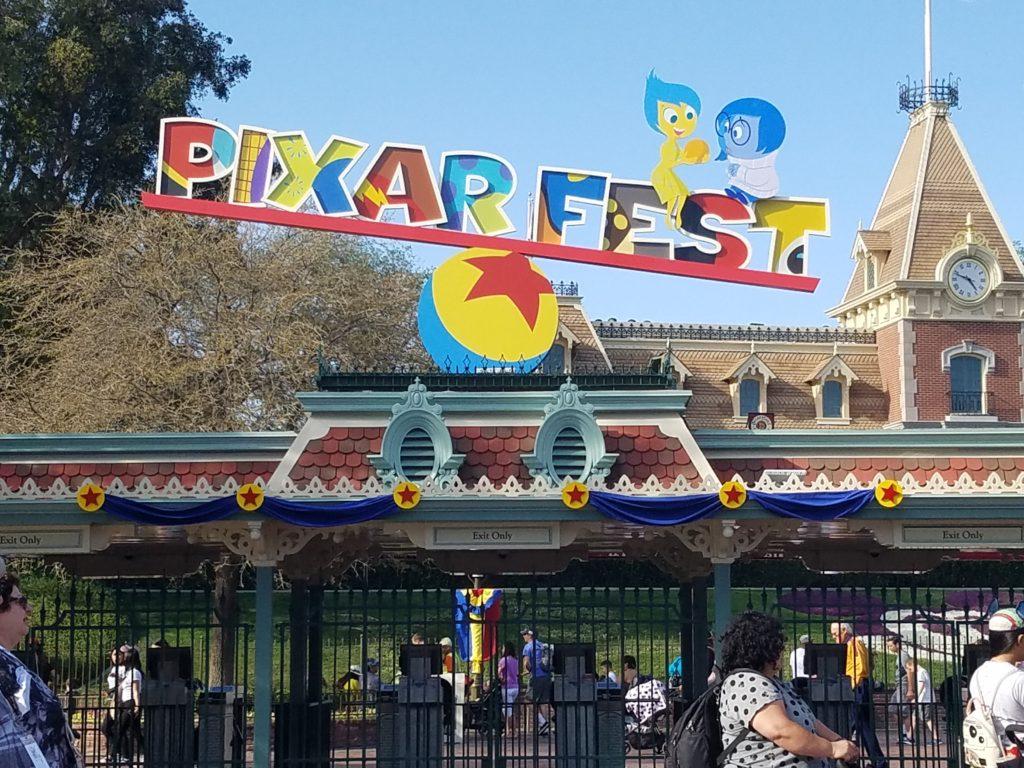 Pixar Fest Disneyland Summer