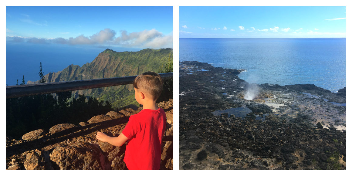 Exploring Kauai with kids