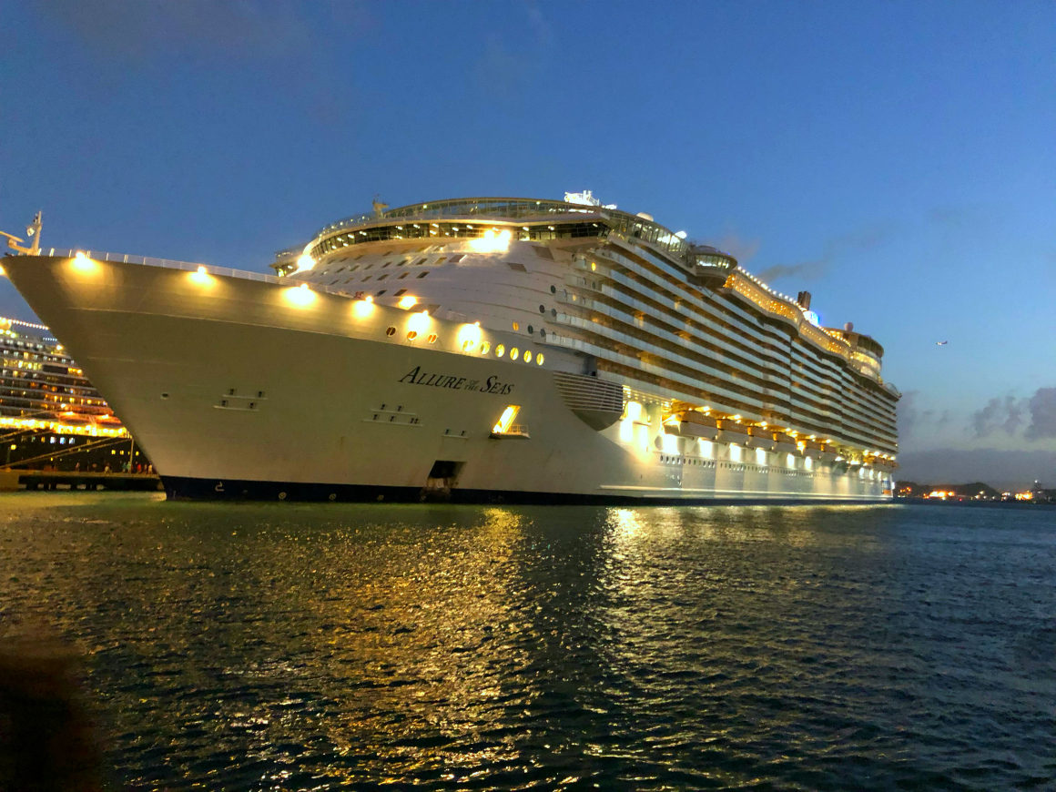 Family Christmas Cruise Royal Caribbean S Allure Of The Seas
