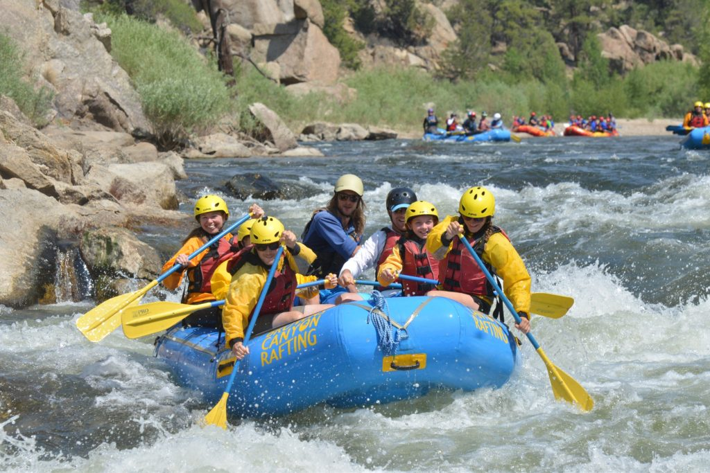 Browns canyon rafting - Colorado Family Vacation