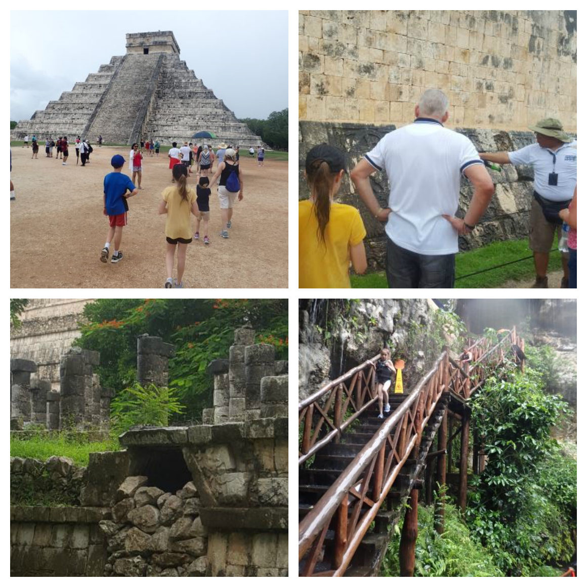 Chichen Itza tour with kids - Well Traveled Kids