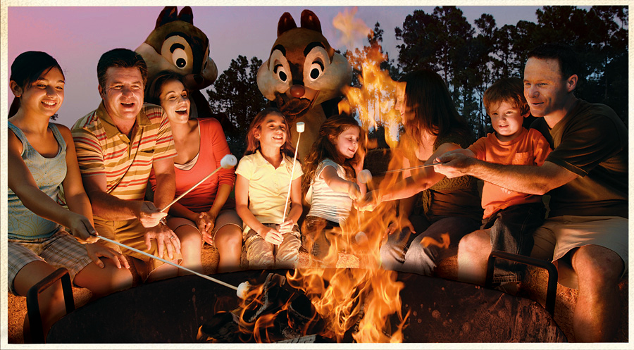 Disney World Smores - Well Traveled Kids