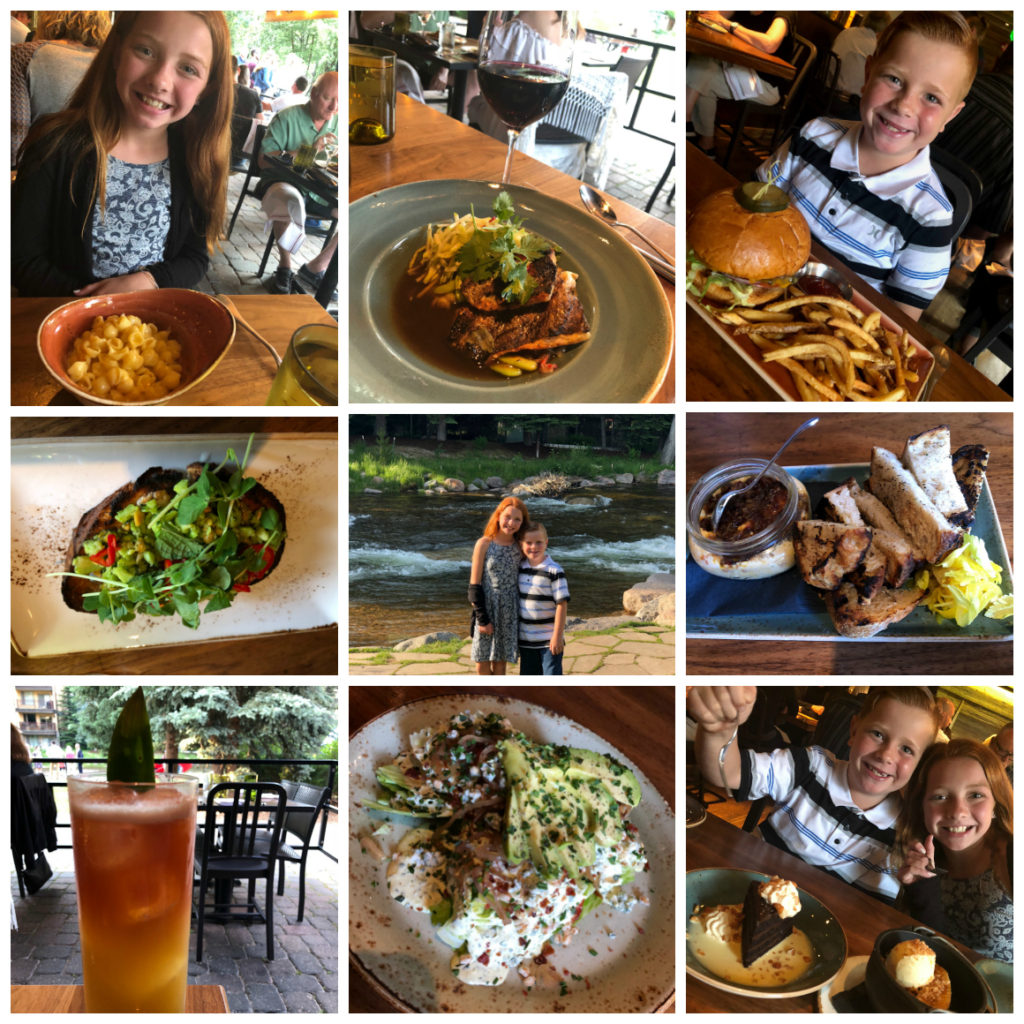 Family Friendly Dining in Vail Village
