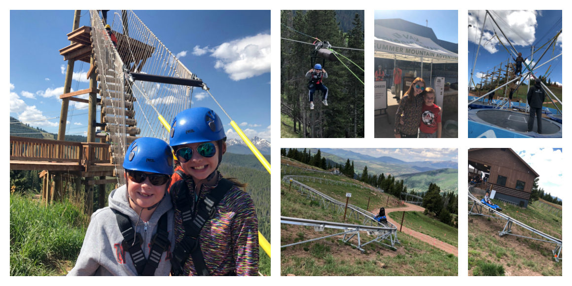 Vail Summer Activities for kids