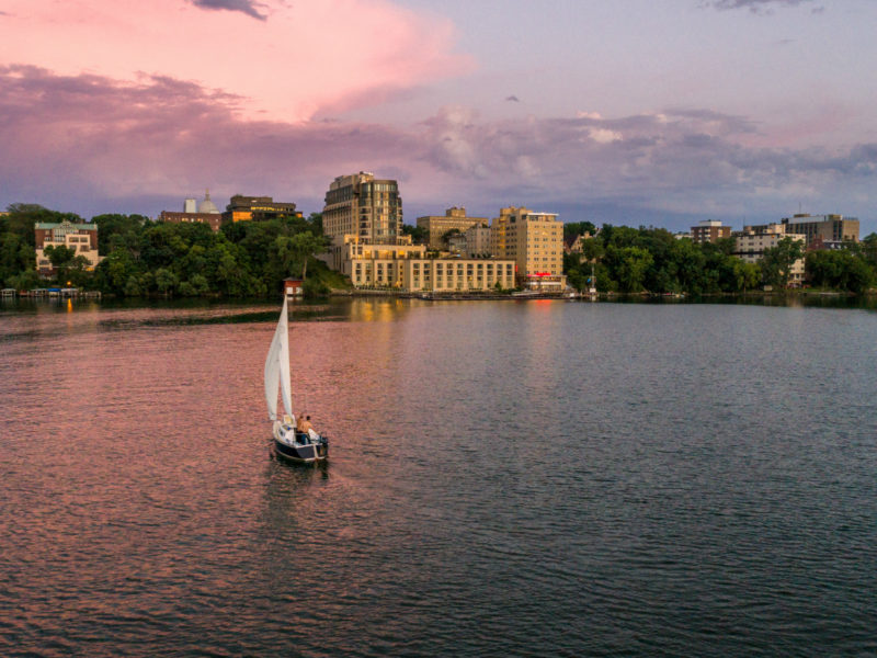 Where to stay in Madison, Wisconsin The Edgewater Hotel - Well Traveled Kids