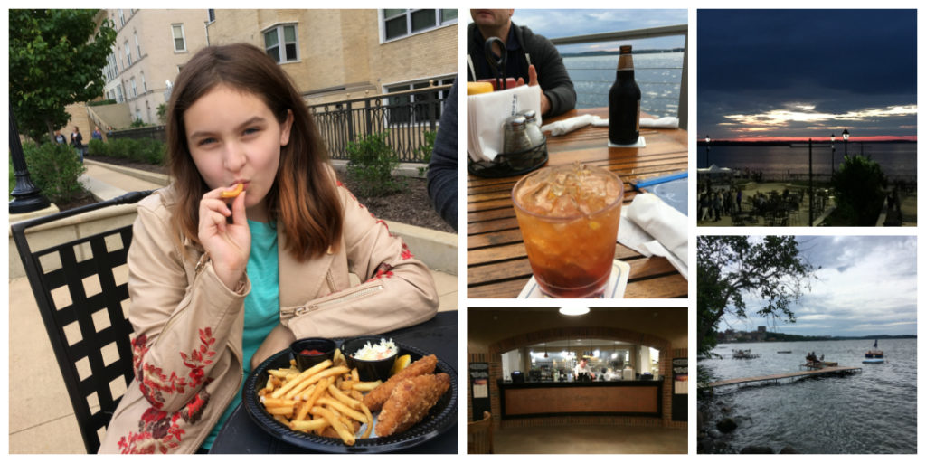 dining in Madison Wisconsin - Well Traveled Kids