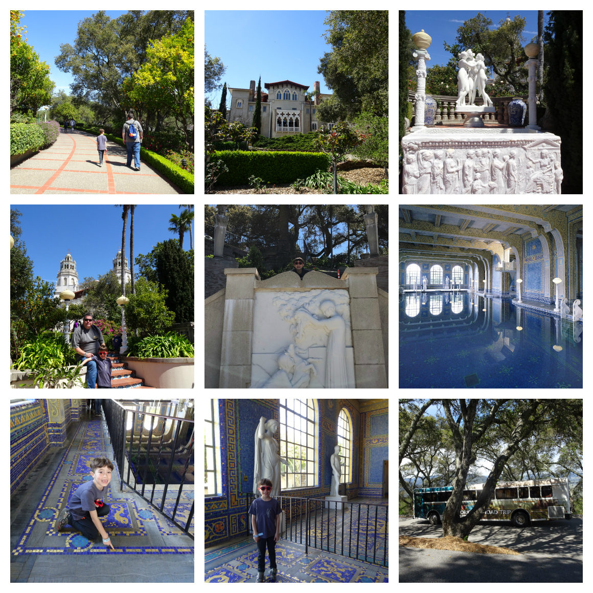 tips for visiting Hearst Castle with kids - Well Traveled Kids